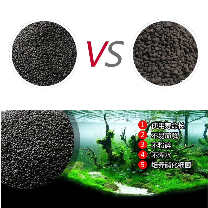 500g Water Grass Mud Freshwater Aquarium Float Grass Clay Aquarium Soil For Waterweeds Substrate Fish Tank Decoration