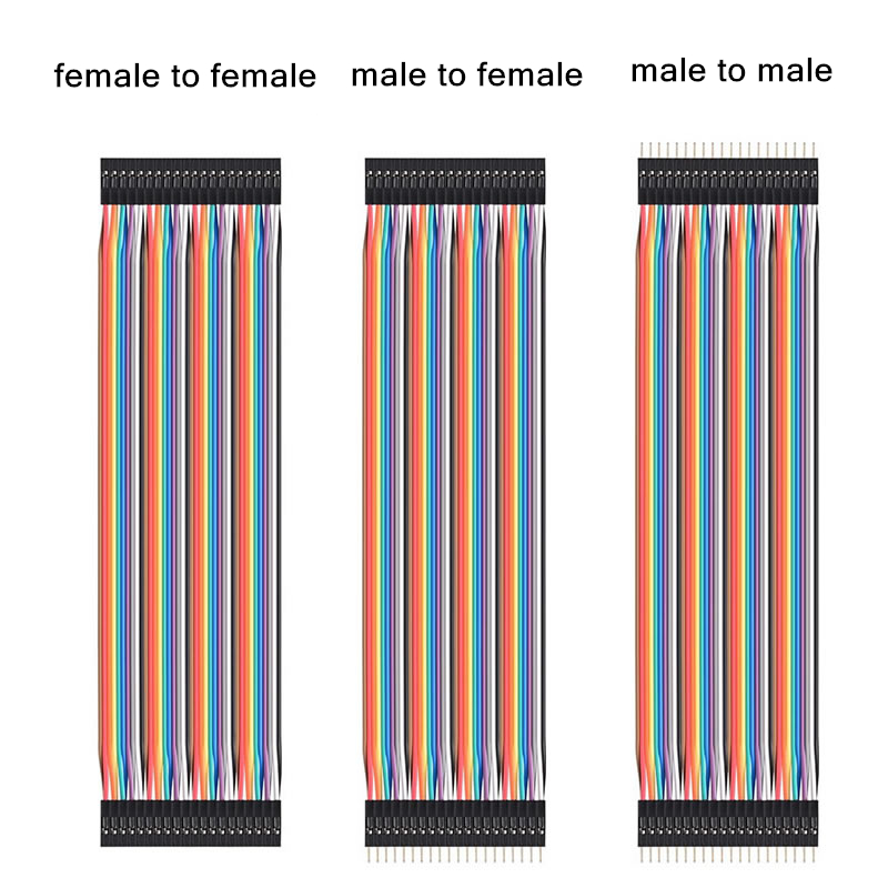 Dupont line 10cm 20cm 30cm male to male male to female and female to female jumper wire Dupont cable