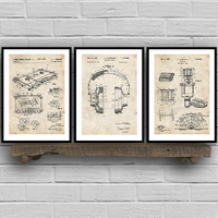 ملصقات ومطبوعات مطبوعة بمخطط عتيق لتسجيل الموسيقى ملصقات فنية جدارية لغرفة الموسيقى لوحات جدارية للديكور ملصق عتيق للحوائط