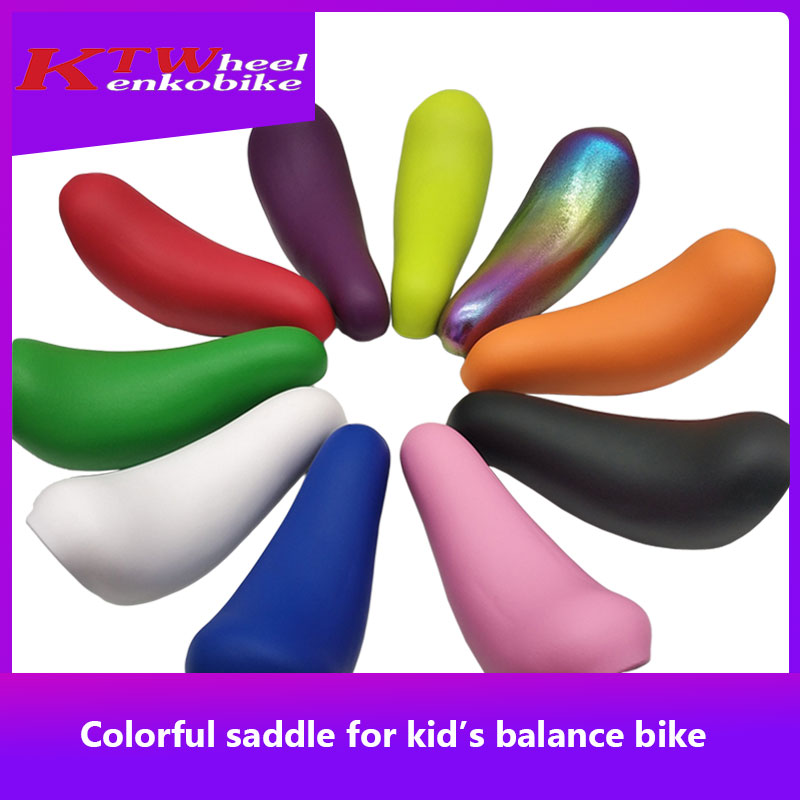 Colorful Saddle KTW 10 color to choose from for kid s balance bike Striders Kokua Puky