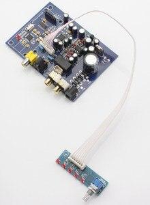 Image 3 - Placa de decodificador de cuatro canales AK4490 + AK4118, 15W, con USB coaxial de fibra (tarjeta hija para agregar USB), analógica, cuatro entradas