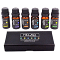 MELAO Pure Essential Oils Essential Oils for Aromatherapy Diffuser 6pcs 10ml Gift Set Tea Tree Eucalyptus Oil