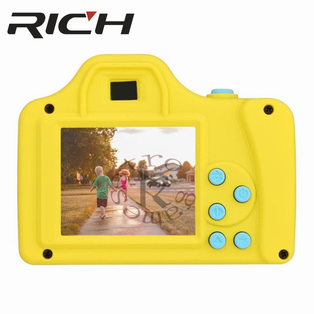 1.77Inch 32GB Mini Digital Camera Toys Kids Baby Full Color LSR Cartoon Camcorder Video Recorder Support TF Card