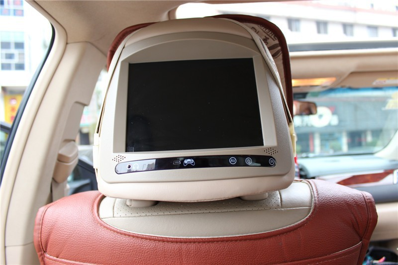 HOT2pcs Car Headrest Monitor Dvd Player Back Seat Tv For BYD F6 In Multimedia From Automobiles Motorcycles On
