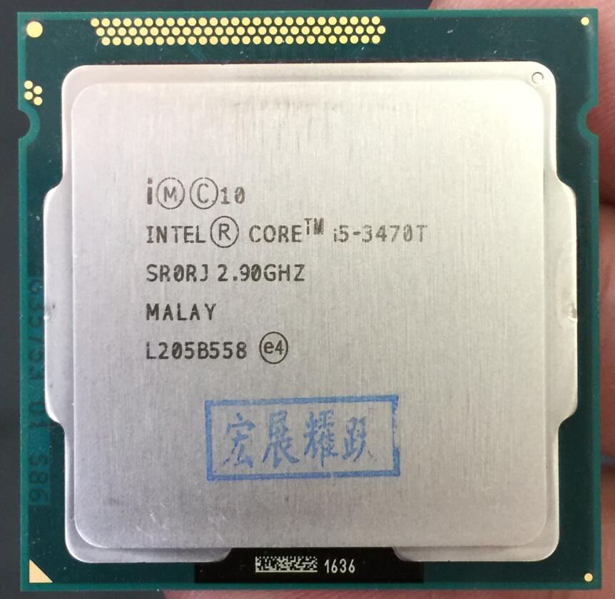 Intel Core i5-3470T  i5 3470 T Processor (3M Cache, 2.9GHz) 35W LGA1155 Desktop CPU asus p8z68 m pro desktop motherboard z68 socket lga 1155 i3 i5 i7 ddr3 32g sata3 usb3 0 uatx