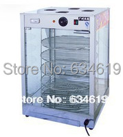 Pizza rotating heat warming showcase, heat warmer pizza display, restaurant equipment food warming equipment