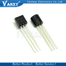 100PCS BC547C TO-92 BC547 TO92 547C new triode transistor free shipping(China)