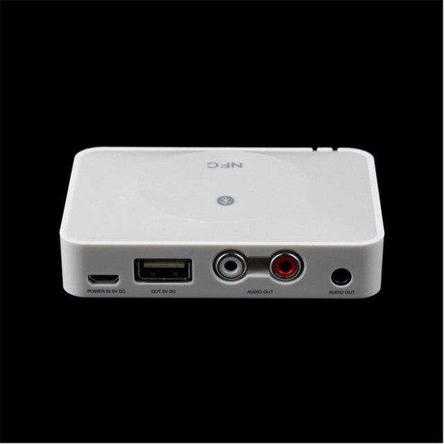 Hot Sale Wireless Bluetooth Receiver A2DP HD Music Audio Music Receiver Adapter Audio Receiver for Phone Speaker Black/White
