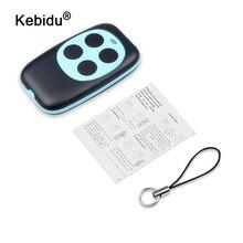 Kebidu mando a distancia inalámbrico, copia de código 433Mhz, mando a distancia de 4 canales para puerta eléctrica de garaje, copia automática