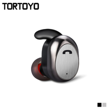 TORTOYO D11 Super Mini Invisible Wireless Bluetooth Earphone Sport Running Earbuds With Microphone for iPhone Samsung Xiaomi
