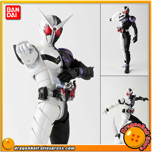 Japan Anime Kamen Rider Double Original BANDAI Tamashii Nations S.H. Figuarts / SHF Action Figure - Kamen Rider W Fang Joker 100% original bandai tamashii nations s h figuarts shf action figure rin suzunoki rider suit page 9