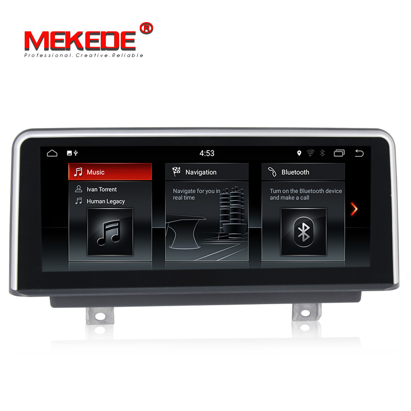 IPS Android 7.1 Car Dvd Navi Player PER BMW 1 Serie F20/F21 (2011-2016) per BMW Serie 2 F23 Cabrio (2013-2016) audio stereo