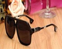 DOWER ME Vintage Fashion Unisex Acetate Full Rim Drivers Polarized Sunglasses Black Leopard Goggle Eyewear Sunglasses Frame