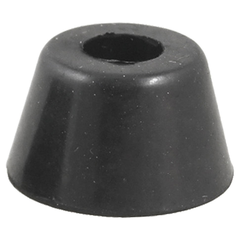 10 Pcs 21 X 12 Mm Conical Recessed Foot Feet Rubber Buffer Material: Rubber