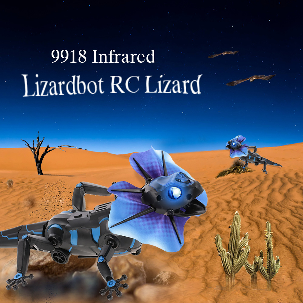 Kids Toys 9918 Infrared Remote Control Lizardbot 4 Modes RC Lizard Radio-Controlled Toys for Children Brinquedos цена 2017