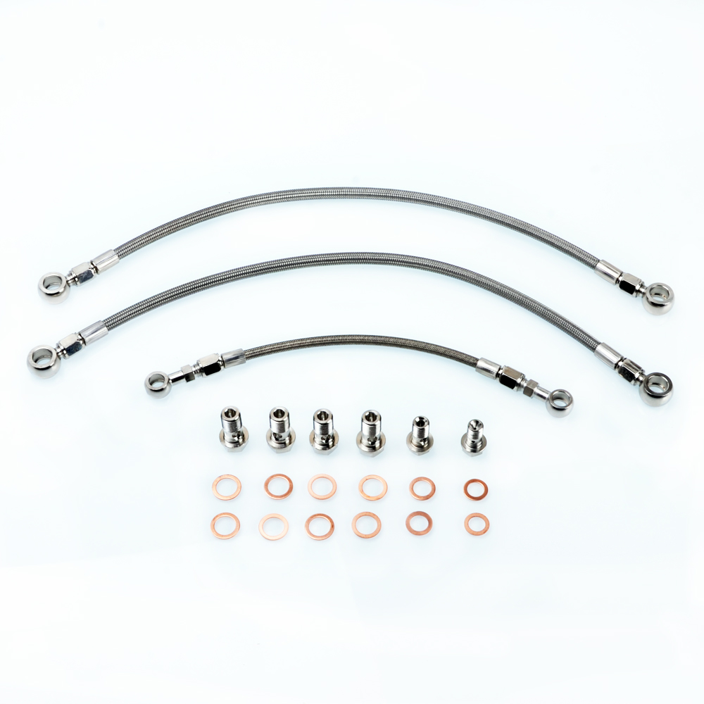 Kinugawa Turbo Oil & Water Line Kit for Nissan Silvia S14 S15 SR20DET w/ for Garrett Ball Bearing