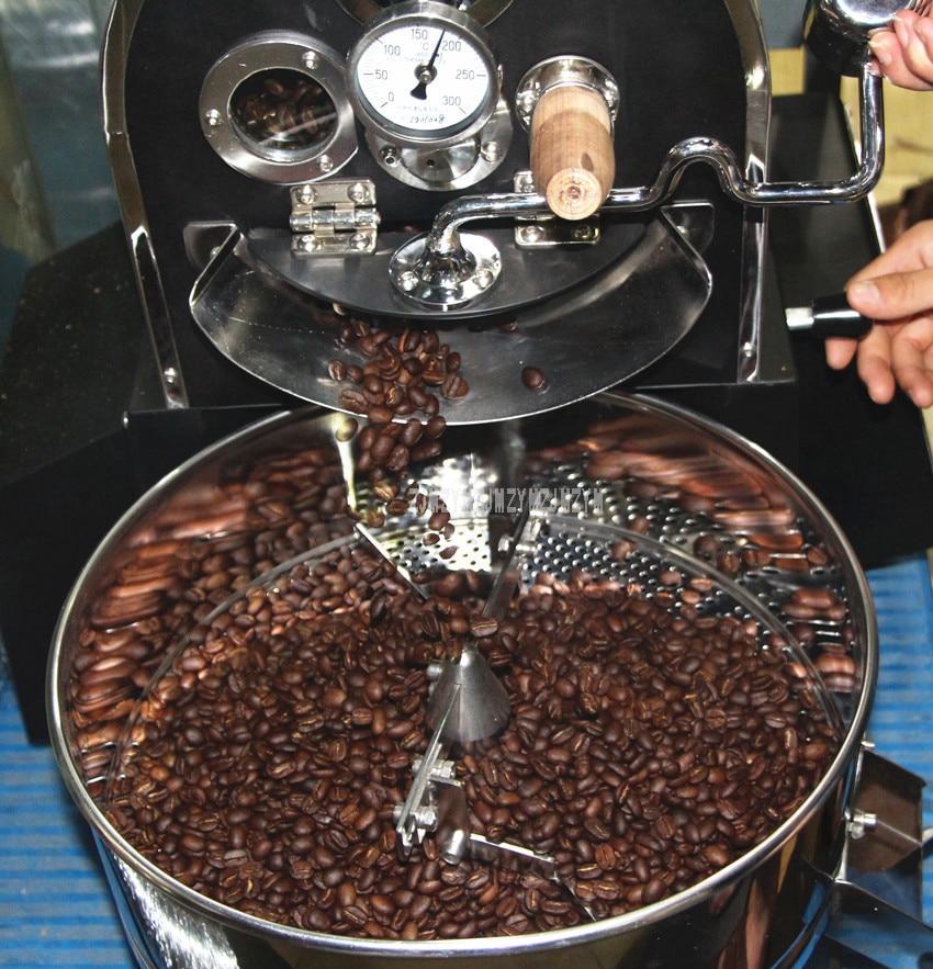 1KG Capacity Electric Coffee Roasting Machine Commercial Professional Coffee Bean Roaster Roasting Machine 220V/110V WB-A01 12