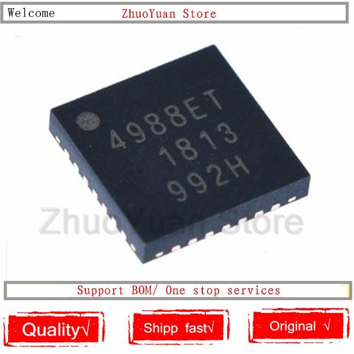 1PCS/lot 100% New Original  A4988SETTR-T A4988SETTR A4988ET A4988 4988ET A4988SET QFN28 New Original IC Chip