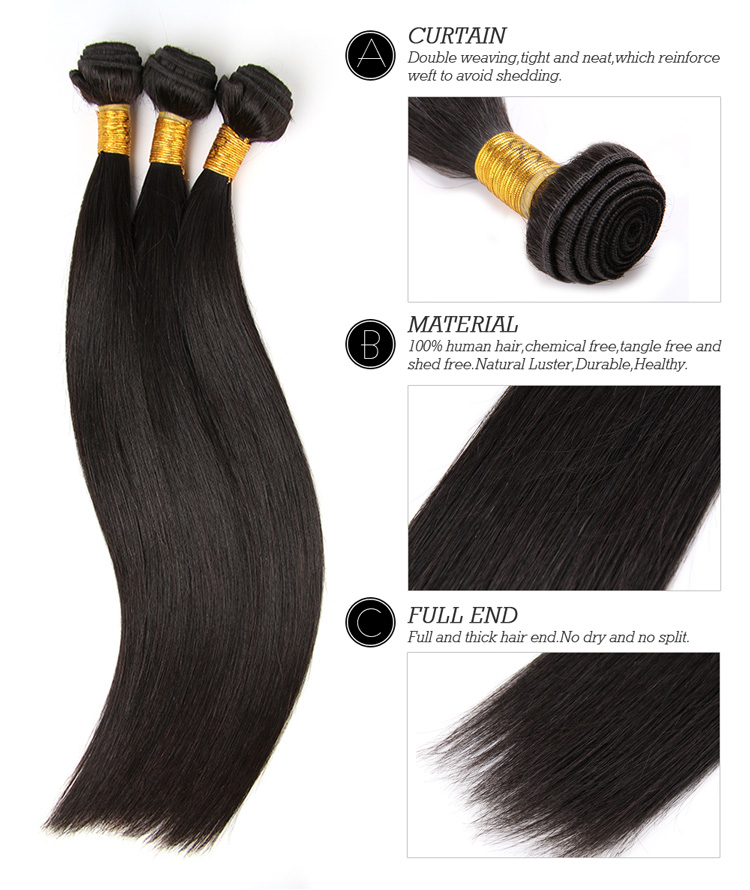 Brazilian human hair extensions virgin hair straight hot beauty brazilian human hair extensions virgin hair straight hot beauty hair 3pcs lot aliexpress uk hot beauty hair in hair weaves from hair extensions wigs on pmusecretfo Image collections