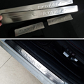 Stainless steel Door sill scuff plate car accessories For Skoda Octavia A5 A7 2007 2008 2009 2010 2011 2012 2013 2014 2015 2015