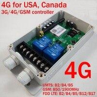 GSM CTL GSM Дистанционное управление коробка (двухканальный реле большой мощности выход) (4 г версия)