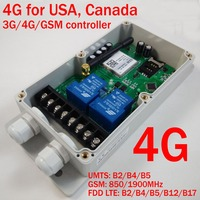 GSM CTL GSM remote control box ( double channel big power relay output )(4G Version)