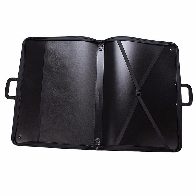 PP A3 Portfolio Expanding Folder File Organiser Office Document Carry Case Waterproof Painting Board Bag Carry Case
