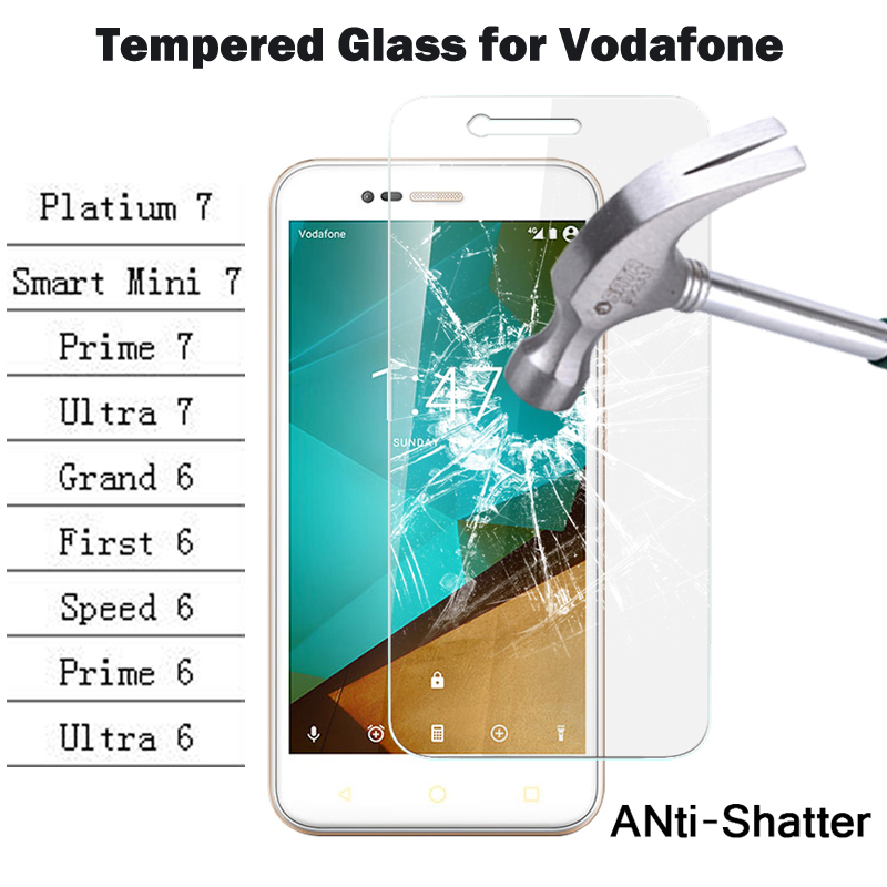 Tempered Glass for Vodafone Smart Prime 6 7 Ultra Speed ...