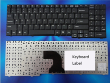 New notebook laptop keyboard for benq S57 US layout