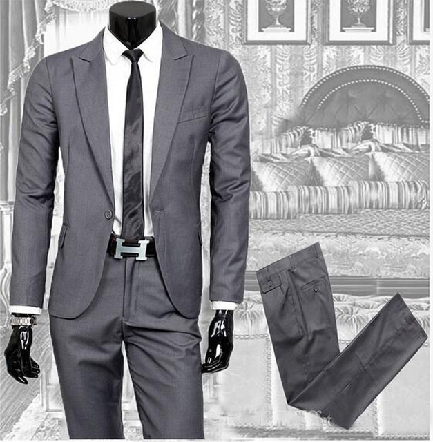Aliexpress.com : Buy 2017 Business casual suits men's two piece ...