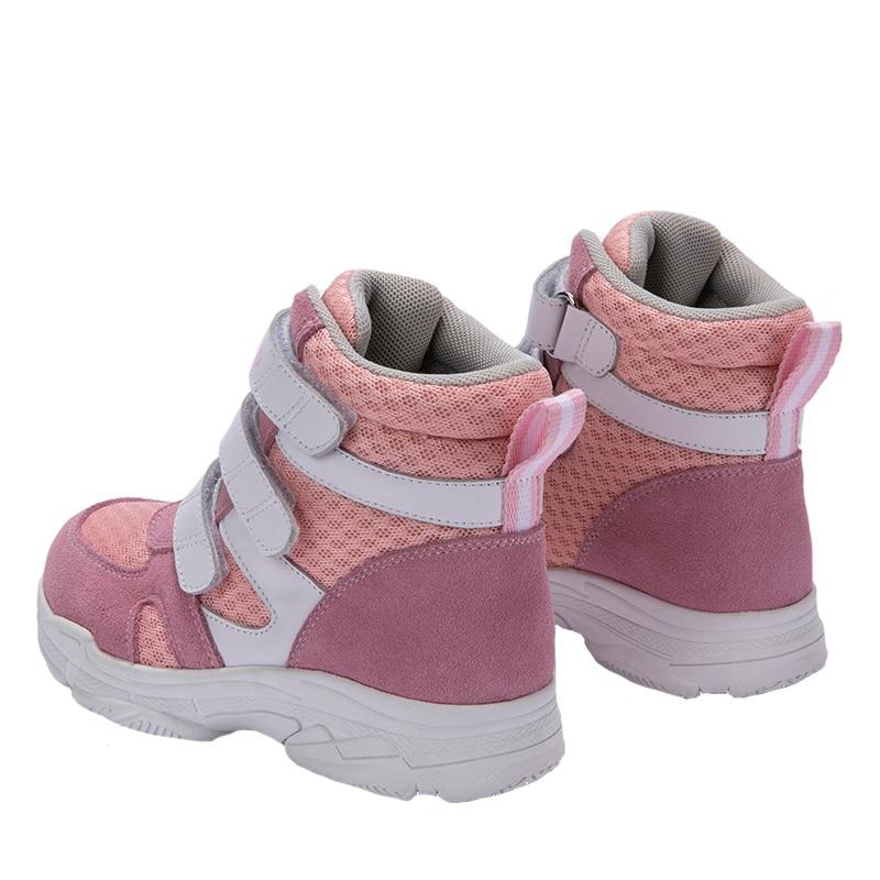 Princepard 2019 ортопедическая спортивная обувь для мальчиков и девочек, сетчатая и верхняя подкладка, профессиональные ортопедические стельки, кроссовки для детей - 6