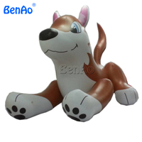 AC013 BENAO Hot sale giant inflatable wolf, inflatable dog for promotion/inflatable hot dog for promotion