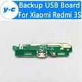 Para xiaomi redmi 3 s placa usb 100% nuevo de alta calidad usb junta charge plug accesorios de reparación de teléfonos para xiaomi redmi 3 s pro teléfono