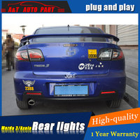 Car styling Accessories for Mazda 3 rear Lights led TailLight 2006 2012 for Mazda 3 Rear Lamp DRL+Brake+Park+Signal lights led