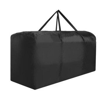 Multi-função Saco De Armazenamento Mobiliário de Jardim Almofadas Estofadas Assento Capa Protetora Sacos de Armazenamento De Grande Capacidade