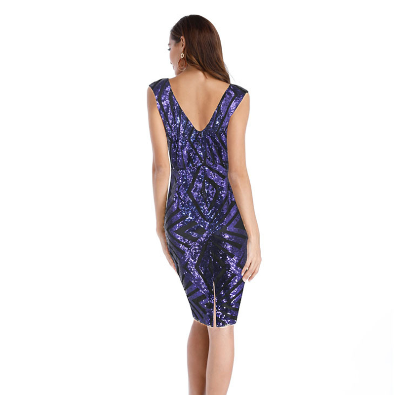6945667a56a87 US $18.19 35% OFF|Aliexpress.com : Buy OTEN 2018 fashion trending Summer  Short sleeve Back Zipper Purple Party Club Bodycon Special occasion dresses  ...