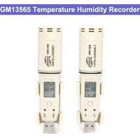 GM1365 Digital data logger temperature humidity usb Temperature Recorder Logger Temperature Recorder 30~80C( 30~176F)