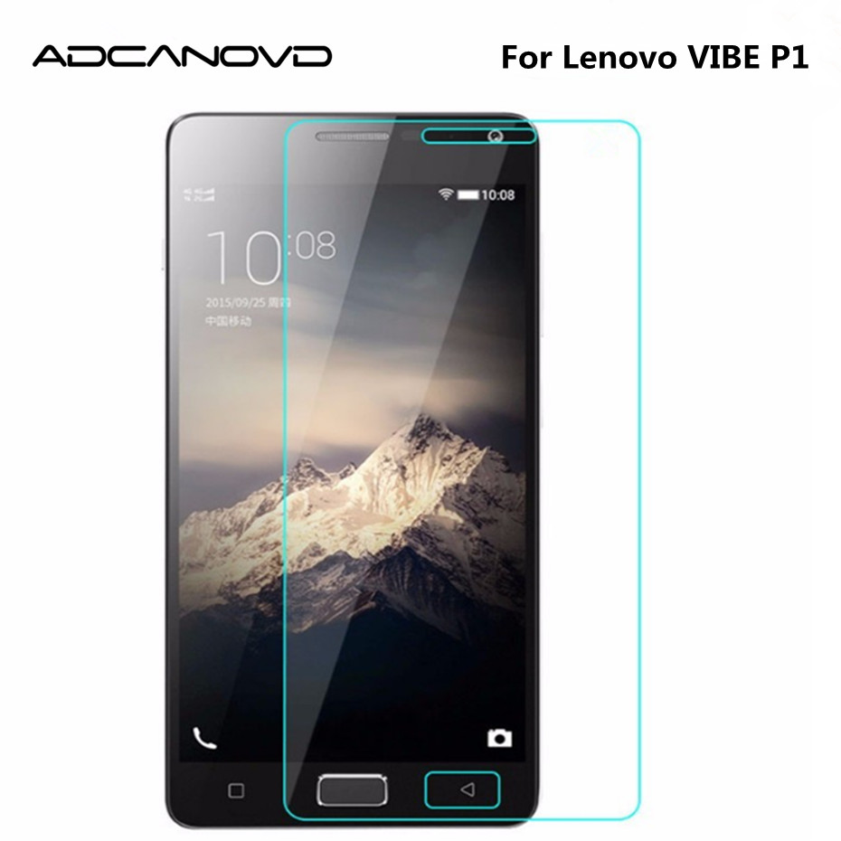 Tempered Glass For Lenovo VIBE P1 P1a42 P1c72 P1c58 Dual Sim Lte 9H Explosion-proof Screen Protector Protective Film