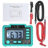 VC60B+Insulation Tester Earth Ground Impedance Resistance Tester DC250V/1000V Median Megohm Digital Insulation Resistance Meter