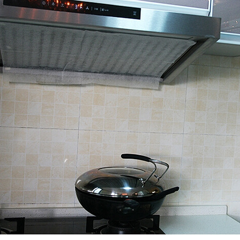 Home range hood Oil pollution prevention screen strainer stickers Absorbent paper of Kitchen oil paper Absorbent