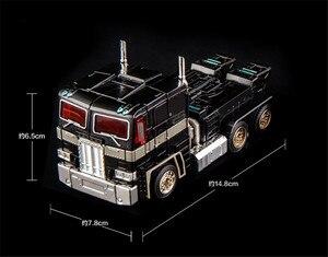 Image 3 - COMIC CLUB KBB Trasformazione OP Comandante MP10V rosso nero bianco Della Lega di Metallo Con Zaino Action Figure Giocattoli Robot