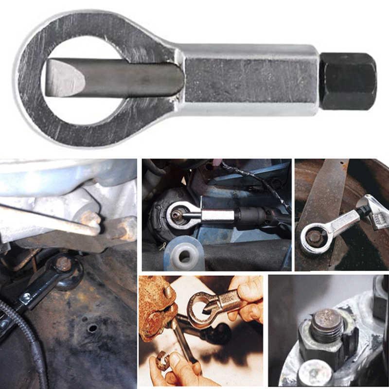 9-27 มิลลิเมตรเลื่อนฟัน Nut ลบ Break ด้วยตนเองโลหะ Nut Break ความดันด้วยตนเองเครื่องมือ Nut Splitter Cracker Remover y30