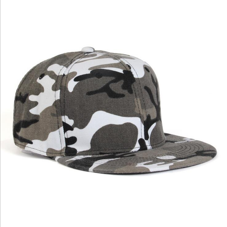 16470058 oZyc hip hop cap fashion trend camo baseball cap for men and women  camouflage flat brim snapback hat adult-in Men's Baseball Caps from Apparel  Accessories