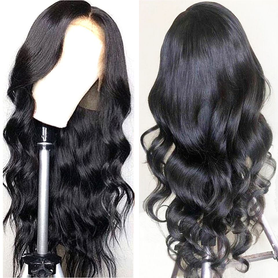 Superfect Brazilian Body Wave 360 Lace Frontal Wig Pre Plucked With Baby Hair Remy Lace Front