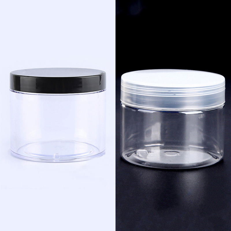 6/12/24pcs 2 OZ 50ml Cosmetic Cream Jar With Lid Travel Refillable Jars Pill Storage Bottles Mayitr