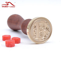 High Quality Classic 26 Letter A-Z Alphabet Initial Sealing Wax Seal Stamp