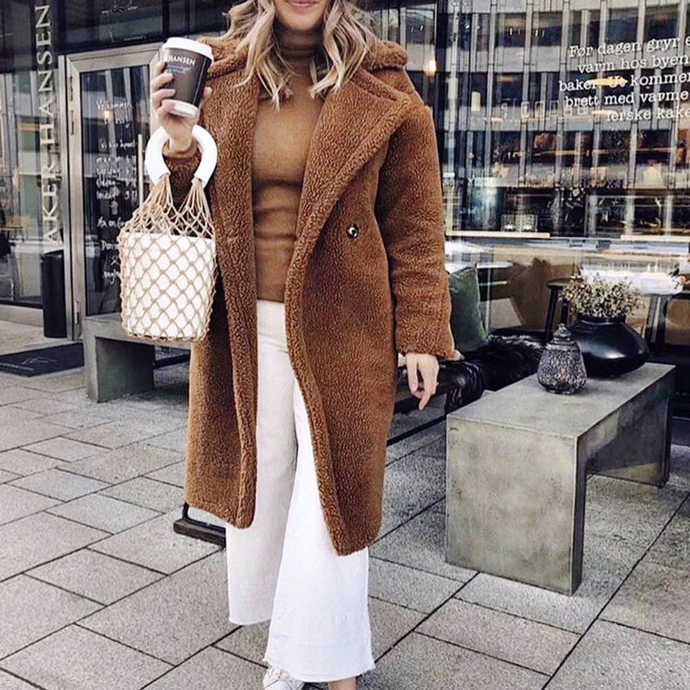 coats and jackets women fashion Winter Casual Warm   Parka   Jacket Solid Outwear Overcoat cotton clothing jacket women 2018Oct16