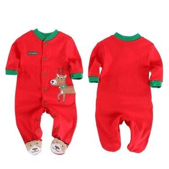 8f8171baa Los muchachos de las muchachas del bebé de Navidad de dibujos animados  lindo ropa de alta