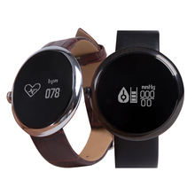 Smart bracelet round screen blood pressure movement multifunctional step heart rate monitoring fashion couple watches