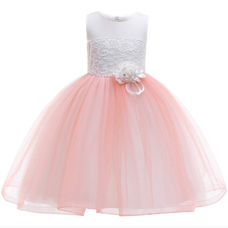Princess Party Wedding Dress Pageant Girl Dress Baby Evening Elegant Birthday Girls Dress First Communion Costume Ladies Dress